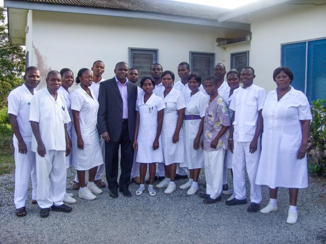 Senior Psychiatry Nurses Training in Ghana